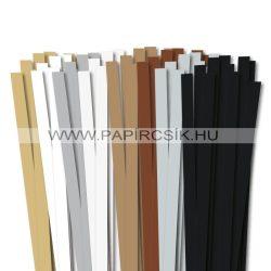 Pachet I. pentru începători hârtie quilling de 10 mm (8 x 10 buc., 49 cm)