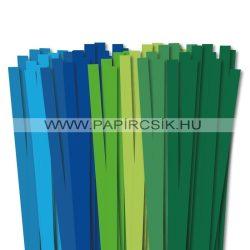 Pachet III. pentru începători hârtie quilling de 10 mm (8 x 10 buc., 49 cm)