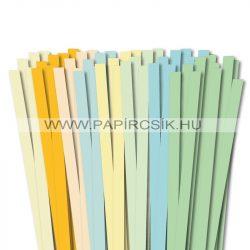 Pachet V. pentru începători hârtie quilling de 10 mm (8 x 10 buc., 49 cm)