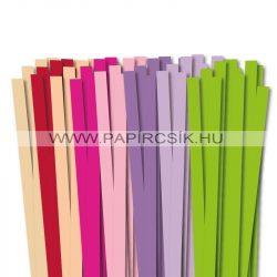 Pachet IV. pentru începători hârtie quilling de 10 mm (8 x 10 buc., 49 cm)