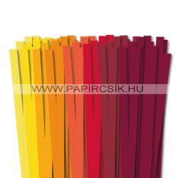 Pachet II. pentru începători hârtie quilling de 10 mm (8 x 10 buc., 49 cm)