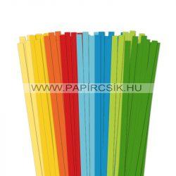 Pachet VII. pentru începători hârtie quilling de 10 mm (8 x 10 buc., 49 cm)