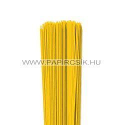 Sárga, 2mm-es quilling papírcsík (120db, 49cm)