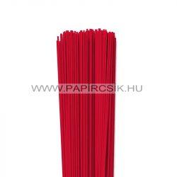 Piros, 2mm-es quilling papírcsík (120db, 49cm)