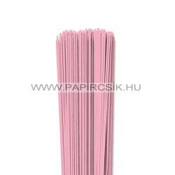 Rózsaszín, 2mm-es quilling papírcsík (120db, 49cm)