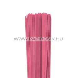 Közép Rózsaszín, 2mm-es quilling papírcsík (120db, 49cm)