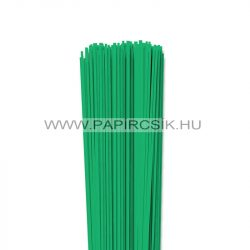 Smaragd, 2mm-es quilling papírcsík (120db, 49cm)
