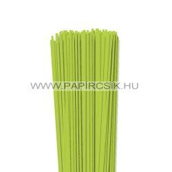 Hârtie quilling, Verde de primăvară, 3mm. (120 buc., 49cm)