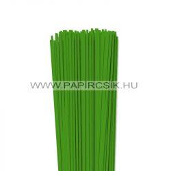 Hârtie quilling, Verde, 3mm. (120 buc., 49cm)