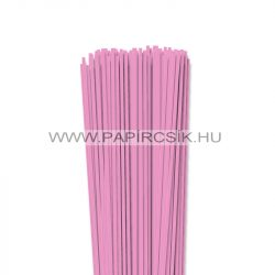 Hârtie quilling, Baby pink, 3mm. (120 buc., 49cm)