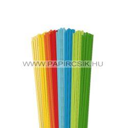 Pachet VII. pentru începători hârtie quilling de 3 mm (8 x 20 buc., 49 cm)
