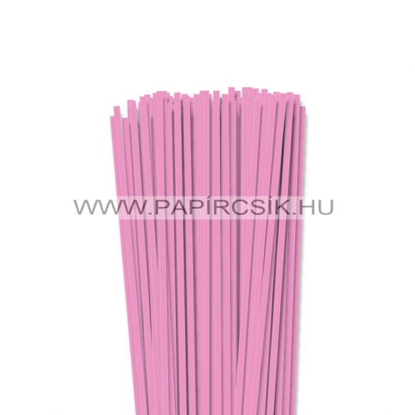 Hârtie quilling, Baby pink, 4mm. (110 buc., 49cm)