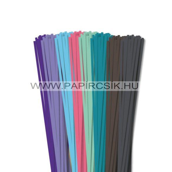 Pachet VI. pentru începători hârtie quilling de 4 mm (8 x 20 buc., 49 cm)