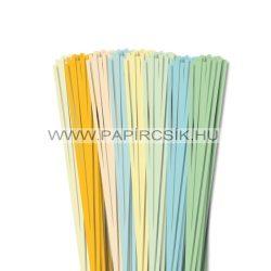 Pachet V. pentru începători hârtie quilling de 4 mm (8 x 20 buc., 49 cm)