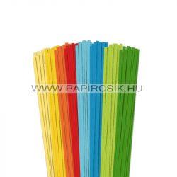 Pachet VII. pentru începători hârtie quilling de 4 mm (8 x 20 buc., 49 cm)