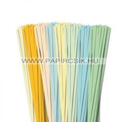 Pachet V. pentru începători hârtie quilling de 5 mm (8 x 20 buc., 49 cm)