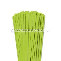 Hârtie quilling, Verde de primăvară, 6mm. (90 buc., 49cm)