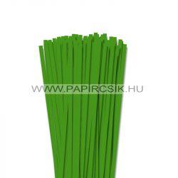 Hârtie quilling, Verde, 6mm. (90 buc., 49cm)