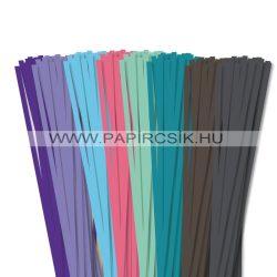 Pachet VI. pentru începători hârtie quilling de 6 mm (8 x 20 buc., 49 cm)