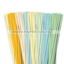 Pachet V. pentru începători hârtie quilling de 6 mm (8 x 20 buc., 49 cm)