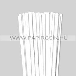 Hârtie quilling, Alb pur, 7 mm. (80 buc., 49 cm)