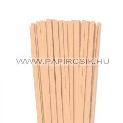 Hârtie quilling, Culoare pielii/ Caise, 7mm. (80 buc., 49cm)