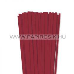 Hârtie quilling, Roșu închis, 7mm. (80 buc., 49cm)