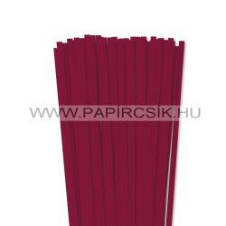Hârtie quilling, Bordo (culoarea vinului), 7mm. (80 buc., 49cm)