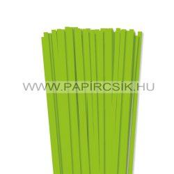 Hârtie quilling, Verde deschis, 7mm. (80 buc., 49cm)
