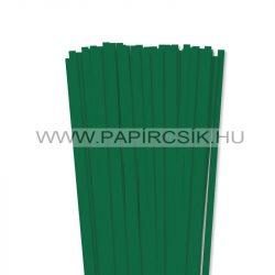 Hârtie quilling, Verde închis, 7mm. (80 buc., 49cm)
