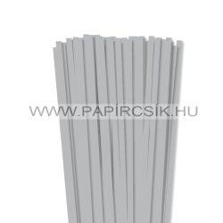 Hârtie quilling, Argint, 7mm. (80 buc., 49cm)