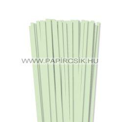 Hârtie quilling, Verde pal, 7mm. (80 buc., 49cm)