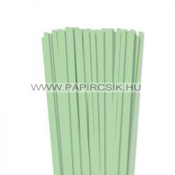 Hârtie quilling, Verde mediu, 7mm. (80 buc., 49cm)