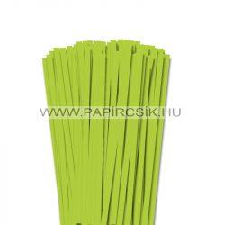 Hârtie quilling, Verde de primăvară, 7mm. (80 buc., 49cm)