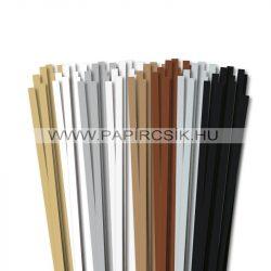 Pachet I. pentru începători hârtie quilling de 7 mm (8 x 10 buc., 49 cm)