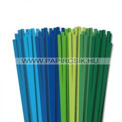 Pachet III. pentru începători hârtie quilling de 7 mm (8 x 10 buc., 49 cm)