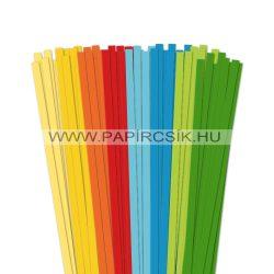 Pachet VII. pentru începători hârtie quilling de 7 mm (8 x 10 buc., 49 cm)