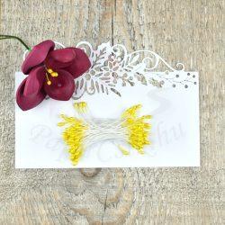 Pistil de floare (Galben, 3mm, 50buc.)