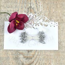 Pistil de floare (Argint, 3mm, 50buc.)