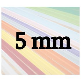 Benzi de hârtie quilling 5mm